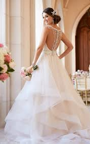open back wedding dresses backless wedding dresses ballgown wedding dress with open back