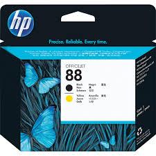 hp 88 printhead black and yellow c9381a b u0026h photo video