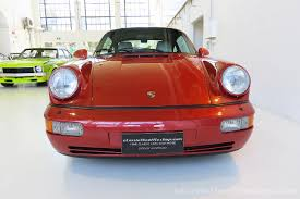 1990 porsche 911 red 1990 porsche 911 carrera 4 classic throttle shop