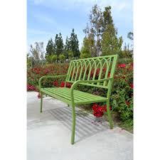 Butterfly Patio Furniture by Bench Green Metal Bench Buy Verdigris Roll Top Garden Bench