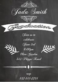 graduation party invitations high or college graduation