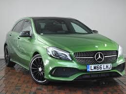 green mercedes a class green mercedes benz cars for sale at motors co uk