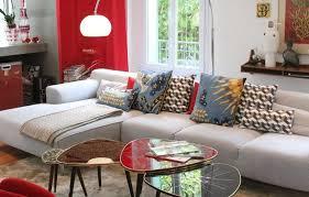 coussin sur canap gris coussins pour canape gris canapé idées de décoration de maison