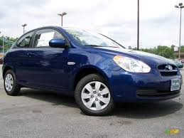 3 door hyundai accent 2010 sapphire blue hyundai accent gs 3 door 30894197