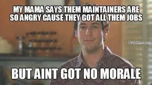 Meme Jobs - all them jobs and no morale navy memes clean mandatory fun