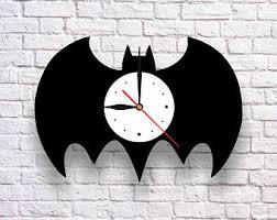 Batman Home Decor Batman Watch Etsy