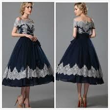cheap navy blue short mother of the bride dresses cap sleeve