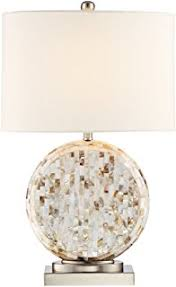 Orb Table Lamp Amazon Com Dimond Lighting Mother Of Pearl Orb Table Lamp Home