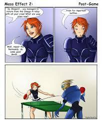 Funny Mass Effect Memes - mass effect 2 post game by higheternity on deviantart