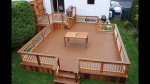 creative home patio decks youtube