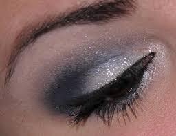 maquillage mariage yeux bleu tutoriel maquillage de fêtes n 2 argent et bleu marine