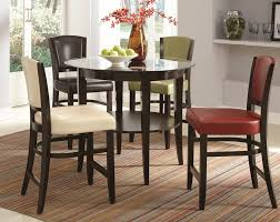 glass counter height table sets round counter height kitchen tables chairs home design blog