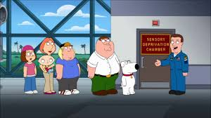 Family Guy Sensory Deprivation Room YouTube - Family guy room