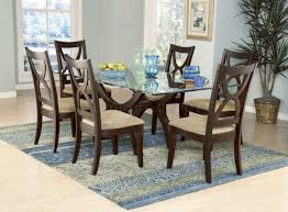 glass top dining room set novel wood and glass top modern furniture table set modern dining