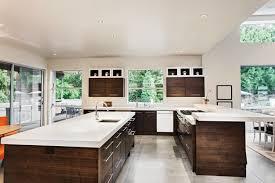cuisine ouverte avec ilot central modele de cuisine americaine avec ilot central tarif cuisine avec