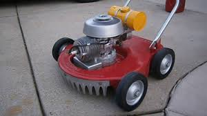 vintage 1952 sears dunlap rotary lawn mower restored and running