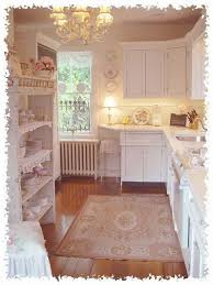 Cottage Chic Kitchen - a shabby chic kitchen you can create on a budget