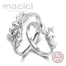 dragon jewelry rings images Customized engraved dragon rings auspicious dragon and phoenix jpg