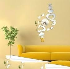 valuable idea decorative wall clocks for living room animalcams