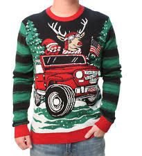 light up christmas sweater ebay