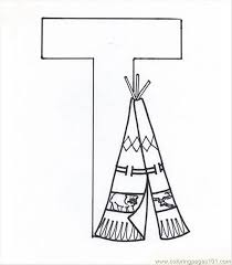 letter t coloring page coloring page free alphabets coloring