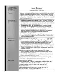brilliant ideas of administrative secretary resume sample for job