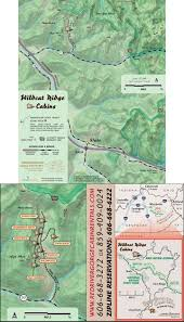 Red River Gorge Map Sandstone Cabin Red River Gorge Cabin Rentals Cabins Red