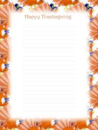 free printable thanksgiving lined stationery money