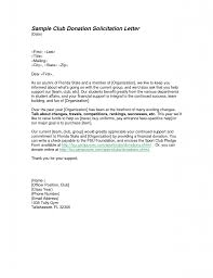 Fundraising Letters Examples by Solicitation Letter Samples Writing Professional Letters