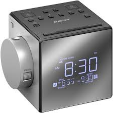 sony nature sounds projection clock radio icf c1pj