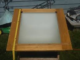 Lighted Drafting Table Vintage Lighted Drafting Table Ebay