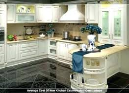 average cost of new kitchen cabinets and countertops average cost for new kitchen cabinets frequent flyer miles