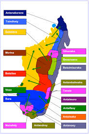 Map Of Madagascar Southeast Africa Tracing African Roots