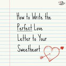12 dos u0026 don u0027ts for writing the most romantic love letter ever
