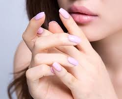 beige 705 pale lavender nail polish i know you wanna kiss me