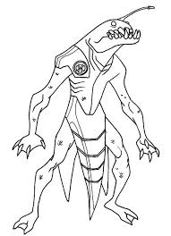 ben 10 omniverse free coloring pages art coloring pages