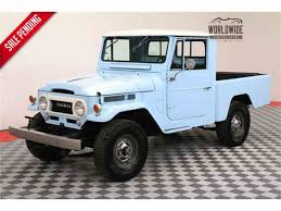 vintage toyota 1964 to 1966 toyota land cruiser for sale on classiccars com