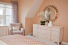 peach bedroom ideas contemporary bedroom ideas with decorative mirror and soft peach