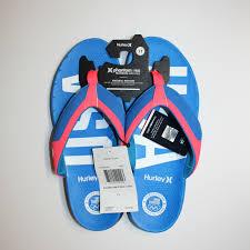hurley phantom usa olympic team sandals size 12 blue msa0000280
