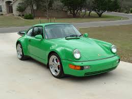 porsche irish green porsche 964 turbo irish green beauty on wheels pinterest
