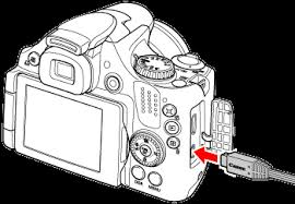 connecting the camera to a tv powershot sx30 is