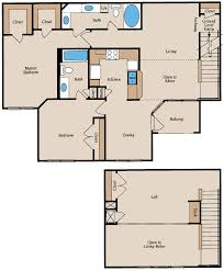 Small Loft Apartment Floor Plan by 2 Bedroom House Plans With Loft Descargas Mundiales Com
