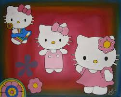Hello Kitty Halloween Fabric by Simple Painting Lessons For Kids How To Draw And Paint Wax Paper