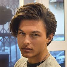 mens middle parting hairstyle 37 medium length hairstyles for men men s hairstyles haircuts 2018