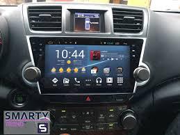 nissan qashqai head unit toyota highlander 2007 2014 android in dash car stereo navigation