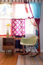 Scarf Curtains Curtains With Scarves Chandelier Sickchickchic