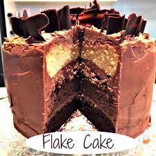 flake cake pink post it note