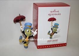 hallmark 2015 limited quantities jiminy cricket ornament disney