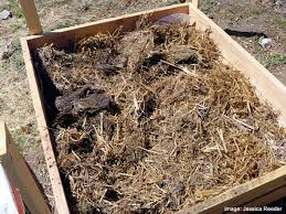 Soil Mix For Container Gardening - fill bottoms with wood chips straw shredded leaves and grass