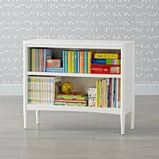 next chapter bookcase walnut white the land of nod